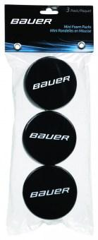 Mini pěnový puk Bauer Foam Puck - 3 pack
